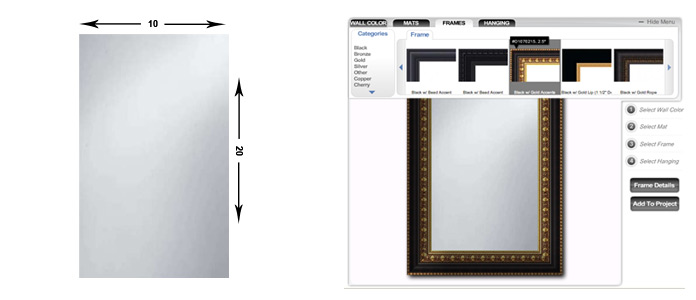 Artline Wholesalers - Mirrors