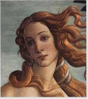 Detail: The Birth of Venus